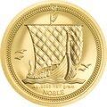 Thisfamous reverse design depicts a viking long ship under full sail with the IOM effigy on the obverse.You can almost feel the wind when you look at this coin!  99.99% gold proof edition Popular Theme ..Price: US $79.58