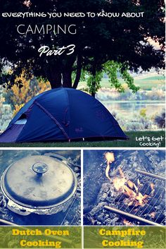 Let's Get Cooking: Options for Cooking When Camping