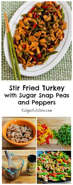 Stir-Fried Turkey (or chicken) with Sugar Snap Peas and Pepper ...