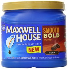 Click the image: Maxwell House Smooth Bold Ground Coffee, Ounce at I need Coffee. Coffee Cafe, Coffee Drinks, Bold 4, Flavor Drops, Seaside Cafe, Maxwell House Coffee, The Last Drop, Coffee Accessories, Need Coffee