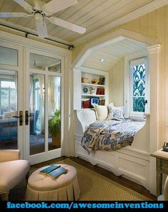 Awesome Little Reading Area!