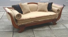 Sofá Biedermeier Love Seat, Couch, Furniture, Home Decor, Environment, Classic Furniture, Custom Furniture, House Decorations, Loveseats
