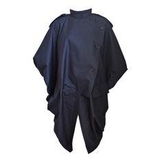 ISSEY MIYAKE - early 1980's ISSEY MIYAKE slate cotton jacket