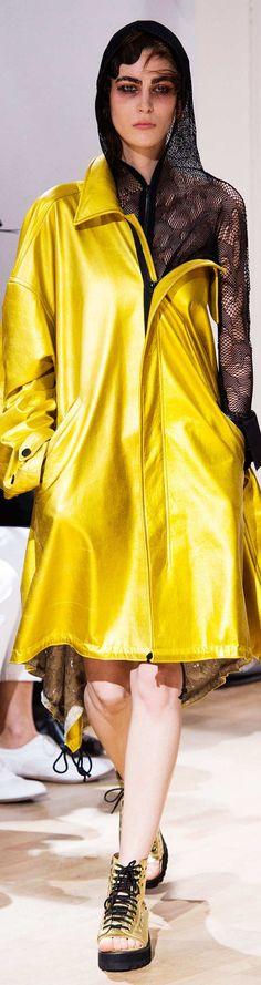 Yohji Yamamoto Collection Spring 2015