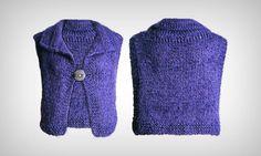 Veja a receita para fazer um colete de tricô