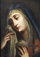 Our Lady of Sorrows (September 15) In each of the seven sorrows of Mary, we are reminded of the suffering and sacrifice that Jesus was born to endure for our salvation. First Sorrow of Mary: Prophecy of Simeon (Lk 2:22-35); Second Sorrow of Mary: Flight into Egypt (Mt 2:13-15); Third Sorrow of Mary: Loss of Jesus in the Jerusalem (Lk 2:41-52); Fourth Sorrow of Mary: Mary Meets Jesus on Way to Calvary (Lk 23:27-31)....