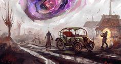 The Experiment Failed, Dominik Mayer on ArtStation at https://www.artstation.com/artwork/vEdl6
