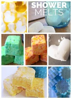 Essential oil shower steamers and melts-- No time for baths, but love the aromatherapy benefits of bath bombs? Try shower melts! 15+ ideas for essential oil blends to use in shower steamers (1) to wake up & feel energized, (2) to calm and relax, (3) to up