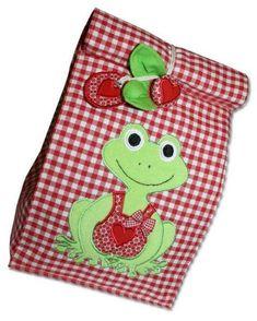 Folgen Sie der ausführlichen Anleitung und lernen Sie, einen praktischen Lunchbag zu nähen!