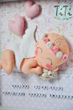 Marco decorativo de la Ángel de bebé nuevo bebé