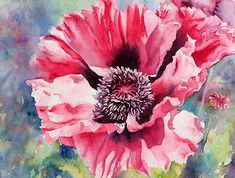 I love this watercolor!