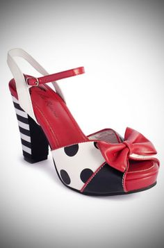 2a3fde1e Lola Ramona Angie Sandals. Vintage style summer shoes at Deadly is the  Female Pin Up