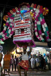 India. Elephant Temple Festival