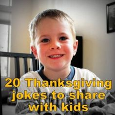 20 Thanksgiving jokes to share with kids - Grandma's Briefs - It's not just for grandmas!