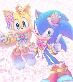 Sonic and Tails Kawaii! Sonic The Hedgehog, Shadow The Hedgehog, Sonic 3, Sonic Fan Art, Doctor Eggman, Sonic Fan Characters, Sonic Franchise, Amy, Mario