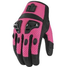 ICON - Women's Justice Mesh Motorcycle Gloves - Icon - NonExclusiveBrands - Cycle Gear sexy!!!!!