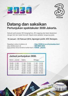 DATANG DAN SAKSIKAN PERTUNJUKKAN SPEKTAKULER _jakarta @3 Indonesia |18 JAN-3 FEB '14 |Jakarta Convention Centre