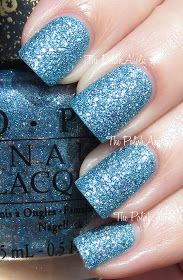 The PolishAholic: OPI Bond Girls Collection Swatches. Tiffany case. Apparently stains badly buy miiiiiight just be with it