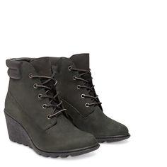 TIMBERLAND Women's Amston 6-Inch Boot Black Nubuck
