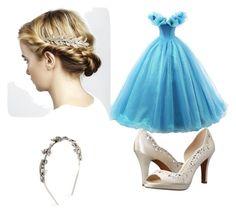 """Cinderella"" by hauser-raylor on Polyvore featuring Adrienne Vittadini and Oscar de la Renta"