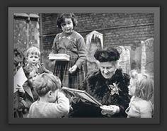 maria montessori with children people inspiration