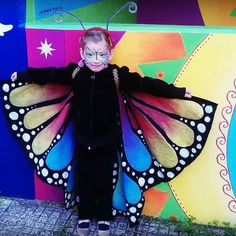 buttefly wings hand made for girl 6 years old. Costume, Carnaval