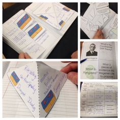 Earth Science for Interactive Notebooks - Convergent, Divergent, and Transform plate boundaries