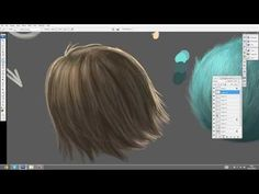 How To Paint _HAIR and FUR_ TUTORIAL - YouTube