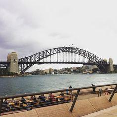 Weekend in Sydney! #sydney #bridge #sydneyoperahouse #sydneyharbourbridge #ferry #holiday #getaway #city #australia by krissypidd http://ift.tt/1NRMbNv
