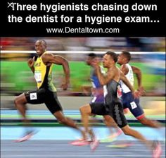 Usain Bolt of Jamaica competes in the Men's 100 meter semifinal on Day 9 of the Rio 2016 Olympic Games at the Olympic Stadium on August 2016 in Rio de Janeiro, Brazil. (Photo by Cameron Spencer/Getty Images) Usain Bolt Memes, Usain Bolt Pictures, Cool Runnings, Grudge Match, Cheeky Grin, Overwatch Memes, Dental Humor, Dental Hygienist, Dental Assistant