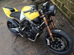 Yamaha BT1100 Bulldog Street Racer By Made In Metal Motorcycles Custommotorcycles Motoscustom