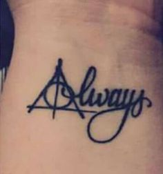 Harry Potter Tattoo: deathly hallows, always tattoo ideas big 25 High Fashion Summer Outfits for 2019 Hp Tattoo, Tattoo Henna, Piercing Tattoo, Get A Tattoo, Lace Tattoo, Samoan Tattoo, Polynesian Tattoos, Tattoo Black, Tiny Tattoo