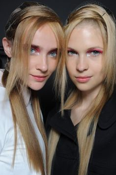 Backstage Beauty - Creatures of the Wind S/S 13