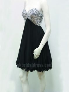 sequins sweet heart cheap short bridesmaid dress | Cheap mini length Sale
