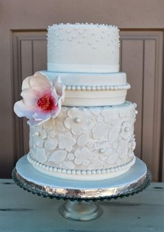 sparkly blue cake - Google Search