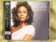CD/Japan- WHITNEY HOUSTON I Look To You +1 bonus trk w/OBI RARE 2009 BVCP-40096 #ContemporaryRBSoulBallad
