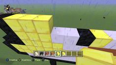 Xbox One - Let's Create Minecraft Ep3 - Yellow Angry Bird