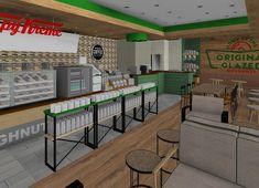 Conceptual design for Krispy Kreme.  #Design #InteriorDesign #HospitalityDesign #SouthAfrica #Architecture #DesignThatWorks #DesignforEveryone #foodandbeverage #ExperienceDesign #DesignPartnership #RestaurantDesign #DesignPhotography #DesignInspiration #ConceptualDesign
