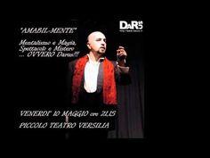Darus il mentalista al Piccolo Teatro Versilia http://www.darus.it mentalista