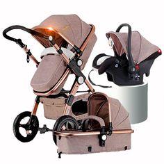 Altın Bebek Arabasından 2in1 3in1 Bebek Araba Koltukları Rusya ücretsiz nakliye
