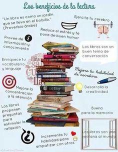 Los beneficios de la lectura.