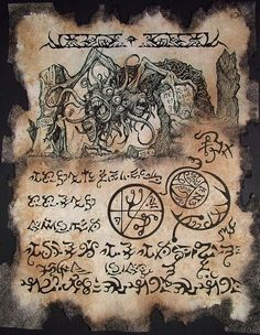 Necronomicon Page
