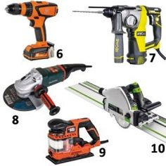 outils électroportatifs Milwaukee, Nerf, Drill, Tools, Power Tools, Wood Games, Custom In, Bricolage, Places