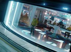 A Starship Crashed in Vancouver for STAR TREK BEYOND | TrekCore Blog Star Trek Bridge, Star Trek Wallpaper, Start Trek, Star Trek 2009, Ship Of The Line, Star Trek Beyond, Star Trek Into Darkness, Star Trek Movies, The Final Frontier