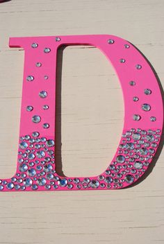 9 Hot Pink Bling Sparkle Wall Letters By Lettersfromatoz On Etsy