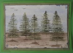 Cardmaking with Watercolour Paintings Watercolor Scenery, Watercolour Paintings, Painting Tips, Painting Frames, Photo Corners, Cardmaking, Tuesday, Landscapes, Pretty
