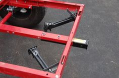 What are you using for stabilizers/levelers on your trailer with a RTT? Bug Out Trailer, Trailer Kits, Kayak Trailer, Off Road Camper Trailer, Trailer Plans, Trailer Build, Utility Trailer, Camper Trailers, Expedition Trailer