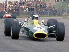 Jim Clark in Lotus 49