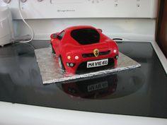 Gâteau cake Ferrari