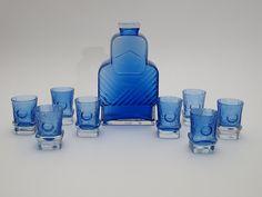 Glass Design, Design Art, Cobalt Blue, Finland, Modern Contemporary, Glass Art, Retro Vintage, Album, Glasses
